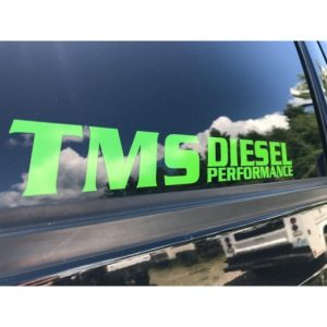 TMS Performance Sticker-0