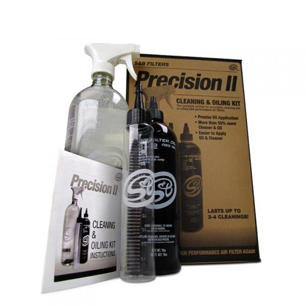 S&B Filters Precision II Cleaning & Oil Service Kit-0