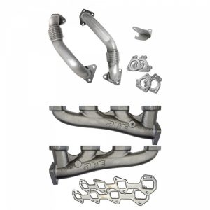 PPE 116111100 High-Flow Race Exhaust Manifolds With Up-Pipes-0
