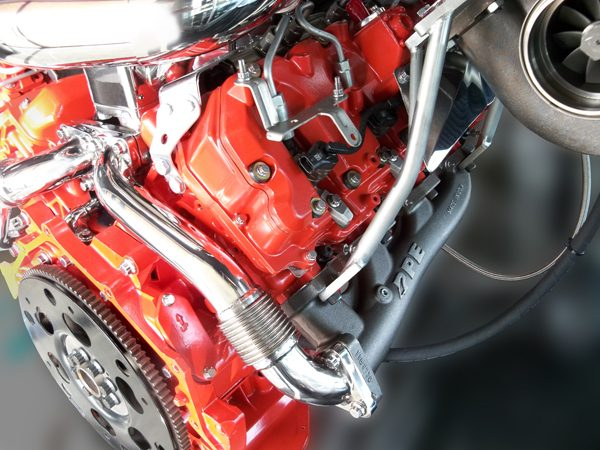 PPE 116111101 High-Flow Race Exhaust Manifolds With Up-Pipes-250