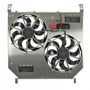 Flex-A-Lite 274 Direct Fit Dual Electric Fans w/ Variable Controller-0