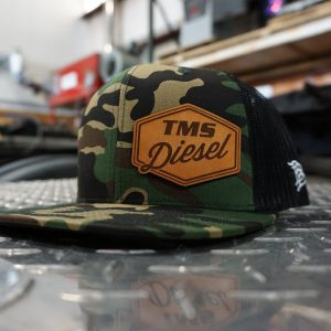 Branded Bills 200 Series Flat Trucker - Camo/Black-0